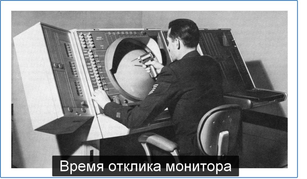 время отклика монитора
