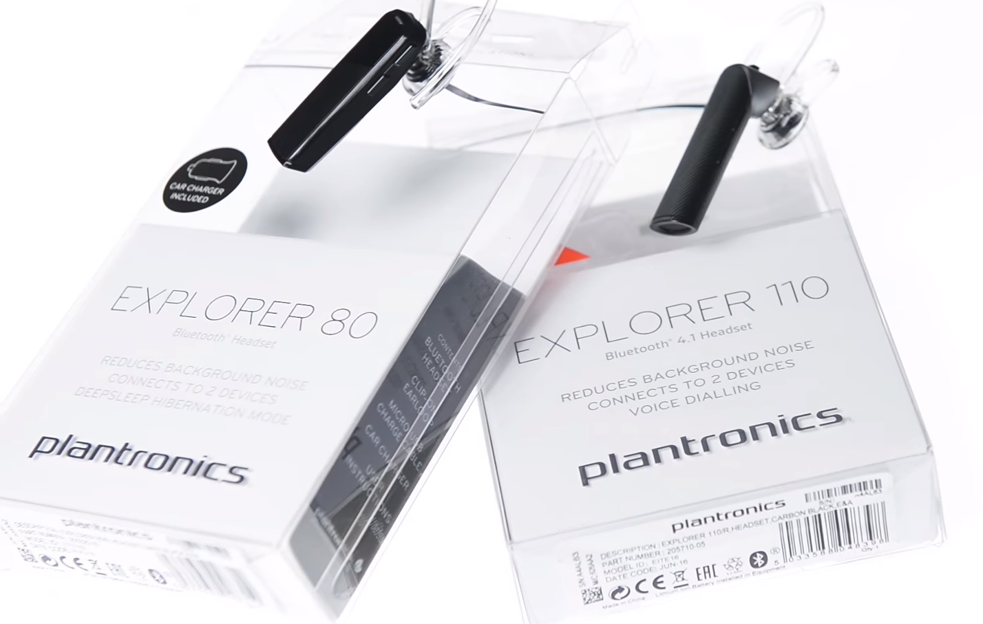 Bluetooth гарнитура plantronics,  Plantronics Explorer 80 , Plantronics Explorer 110