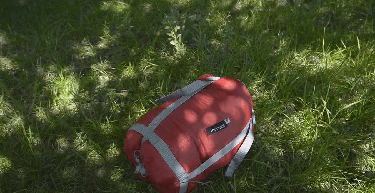 Детский спальный мешок туристический