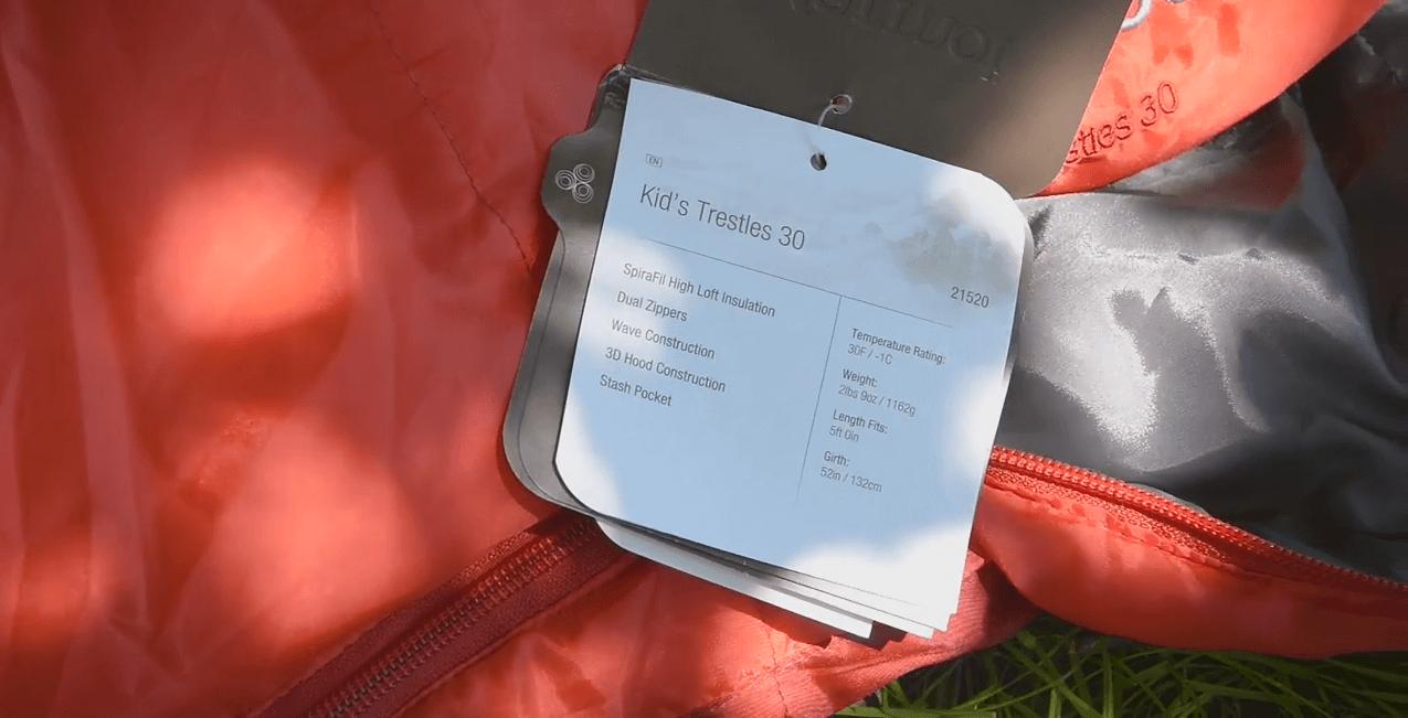 Marmot спальный мешок