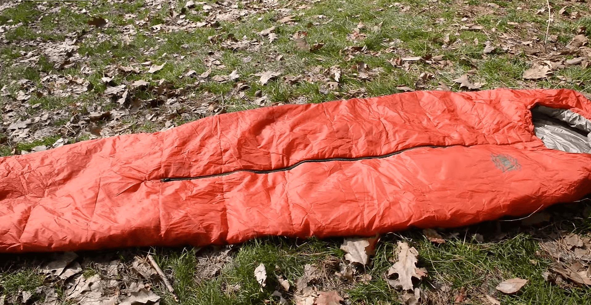 Складной спальник одеяло