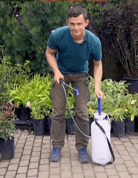 Опрыскиватель садовый обзор