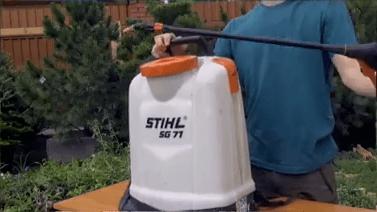 Опрыскиватель садовый stihl